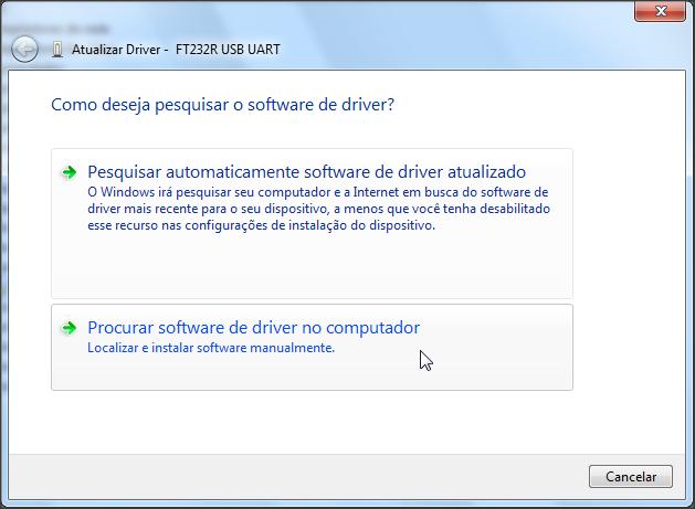 Arduino rj para todos instalando no windows