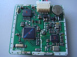 marcação de chips do receptor gps