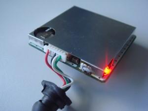 receptor GPS GT-3731 montado